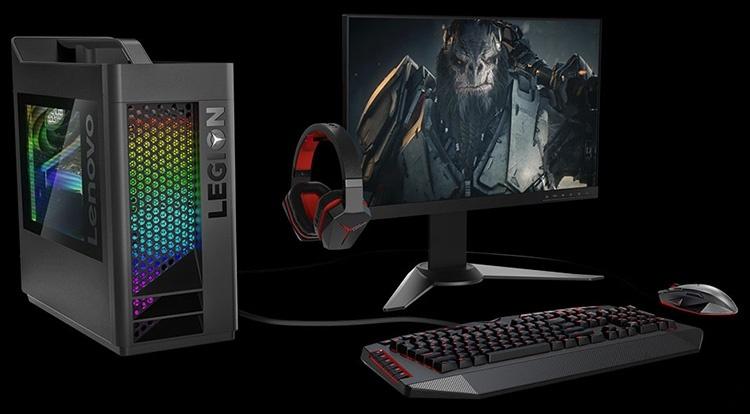 Lenovo готовит игровой десктоп с GeForce RTX 2080