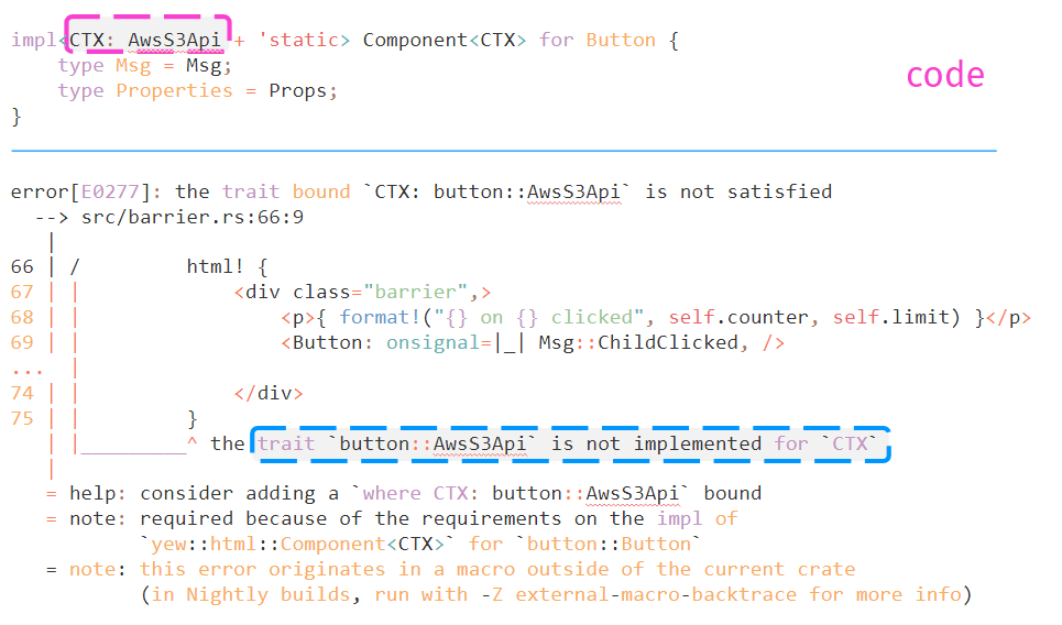 Yew — Rust&WebAssembly-фреймворк для фронтенда - 12