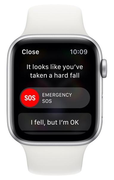 Функция обнаружения падения в Apple Watch 4 отключена по стандарту