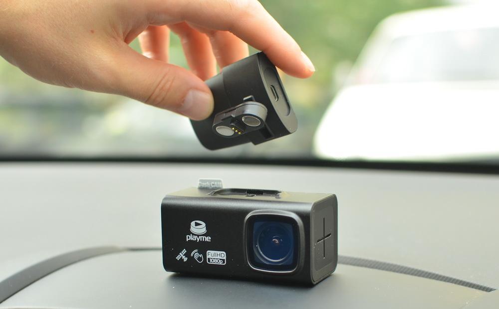 Обзор Playme TIO: топовый видеорегистратор с магнитным креплением - 1