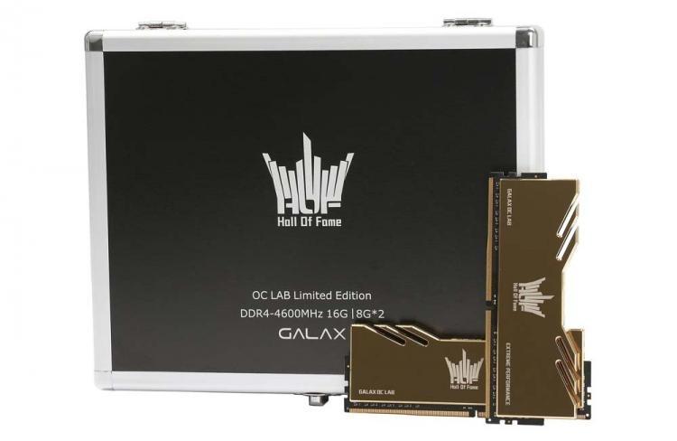 Galax HOF Extreme OC Lab Edition DDR4-4600: комплект памяти для игрового ПК