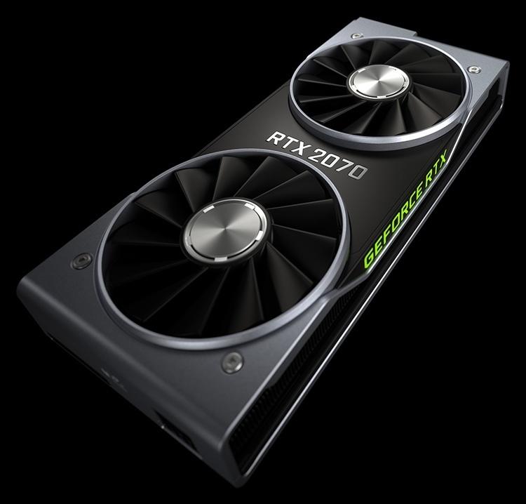 NVIDIA назвала дату начала продаж GeForce RTX 2070
