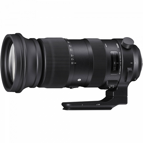 Sigma 60-600mm F4.5-6.3 DG OS HSM Sports — первый объектив с 10-кратным зумом и максимальным фокусным расстоянием 600 мм