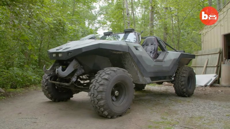 Фанат Halo построил настоящий джип Warthog