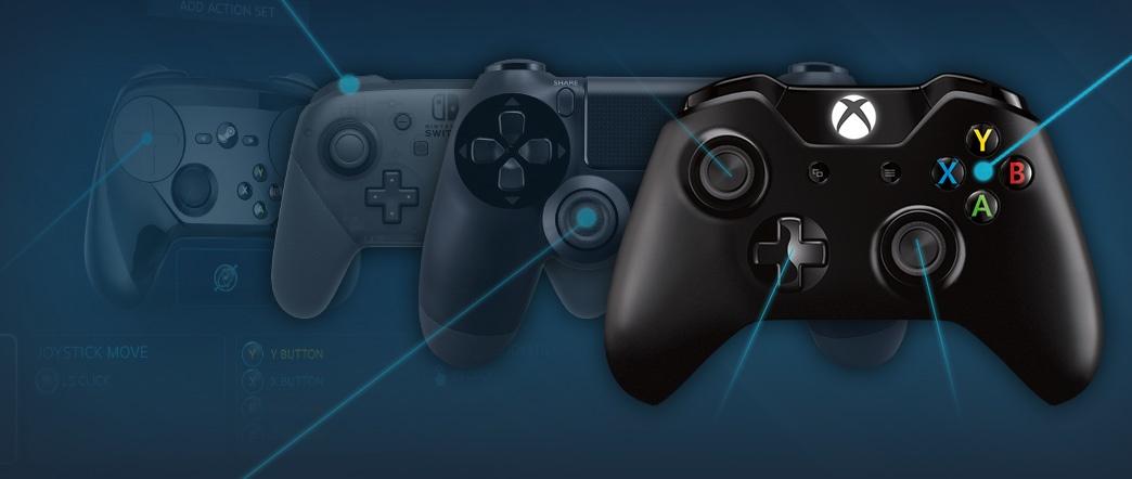 Компания Valve представила рейтинг игровых контроллеров, используемых в Steam - 1