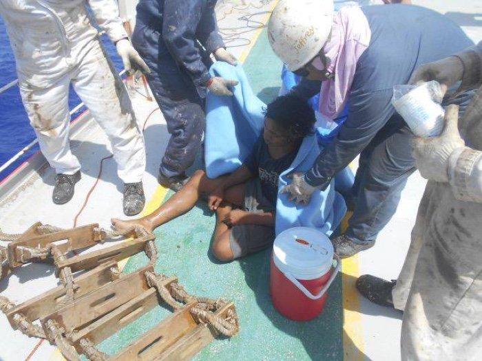 Подросток дрейфовал в открытом море практически 50 дней и выжил