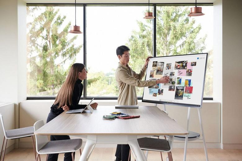 Устройство Microsoft Surface Hub 2S можно будет превратить в Surface Hub 2X путём установки съёмных процессорных картриджей