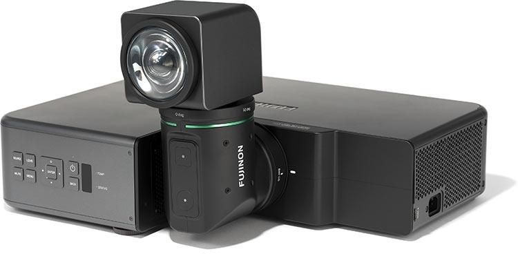 Fujifilm представила свой первый проектор с уникальной конструкцией