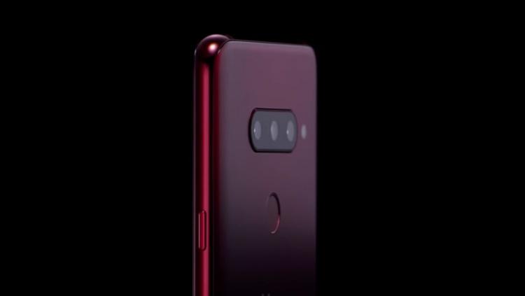 LG опубликовала видео смартфона V40 ThinQ с пятью камерами