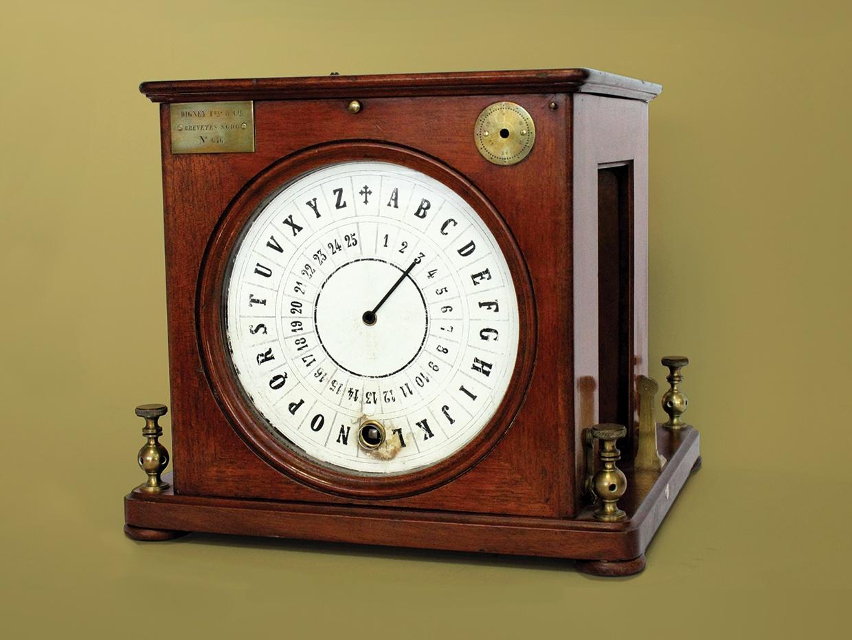 Исчезнувший конкурент азбуки Морзе: наборный телеграф - 1