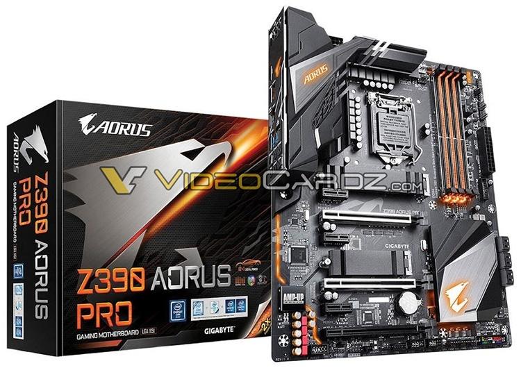 Материнские платы Gigabyte Z390 Aorus: акцент на VRM и внешний вид