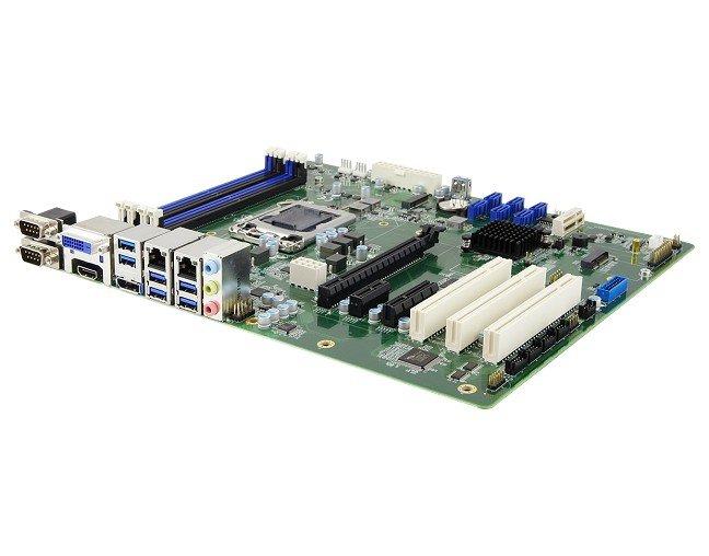Оснащение системной платы Ibase MB995 включает шесть портов COM