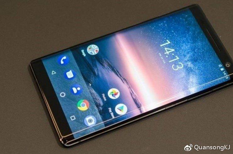 Смартфон Nokia 9 с «пентакамерой» показали спереди