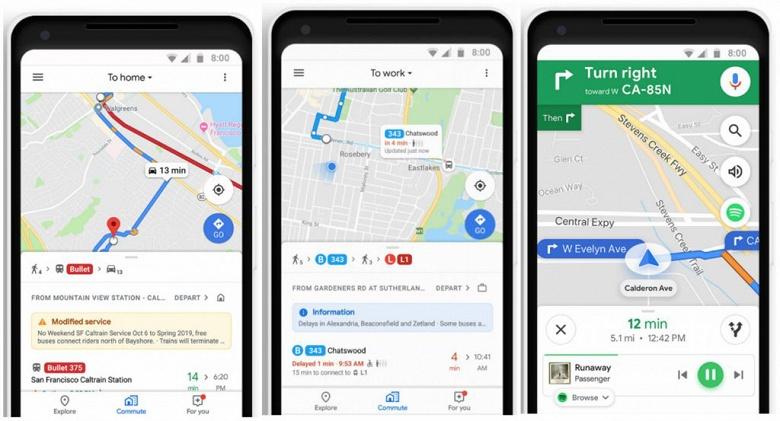 Google запустила в России отслеживание транспорта в реальном времени