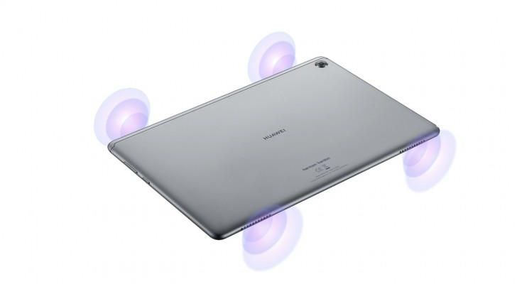 Huawei представила недорогой планшет MediaPad M5 lite с четырьмя динамиками Harman/Kardon