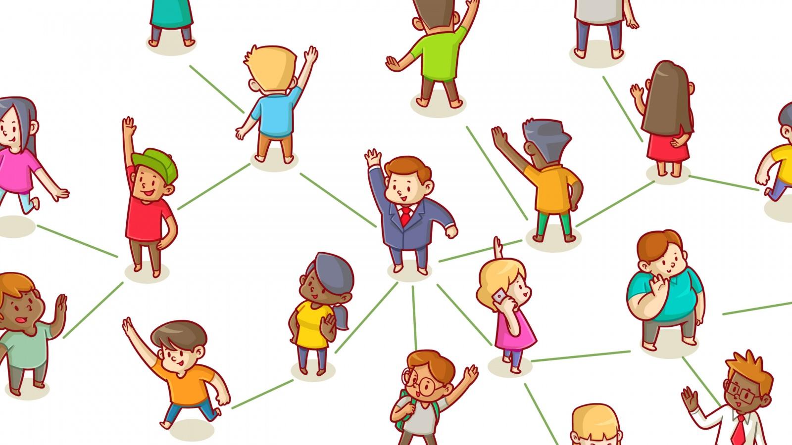 Как сетевая математика может помочь вам находить друзей - 1