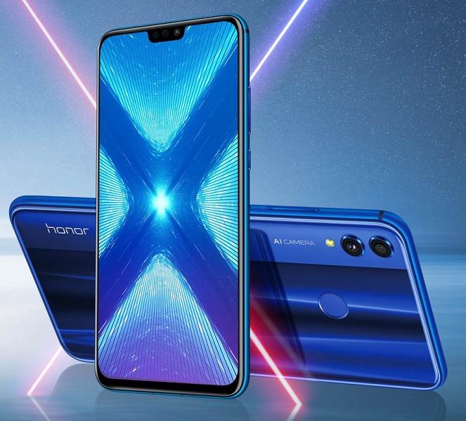 Huawei предлагает угадать цену на большой смартфон Honor 8X в России