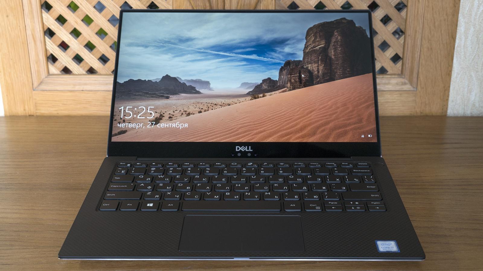 Обзор ноутбука Dell XPS 13 9370: лёгкий, красивый, быстрый - 13