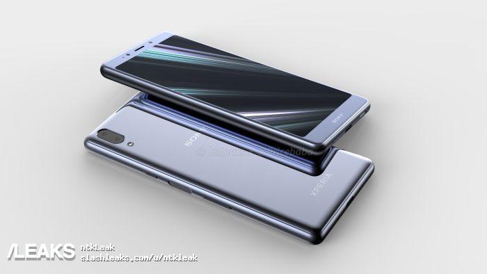 Стало известно, как будет выглядеть смартфон Sony Xperia L3