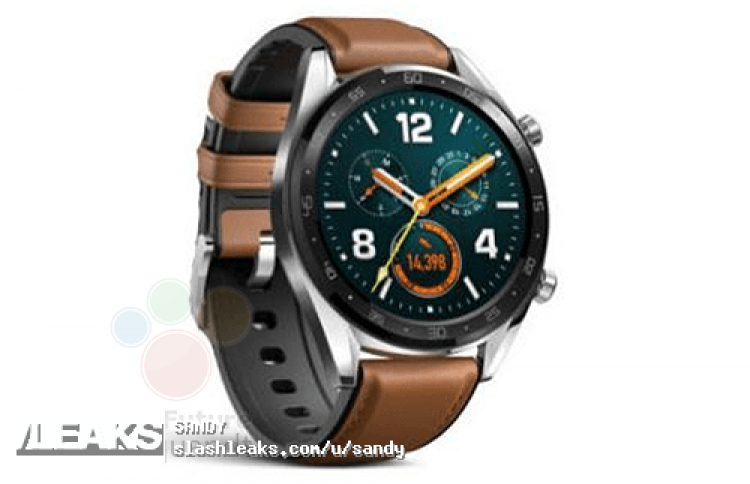 Появился официальный рендер умных часов Huawei Watch