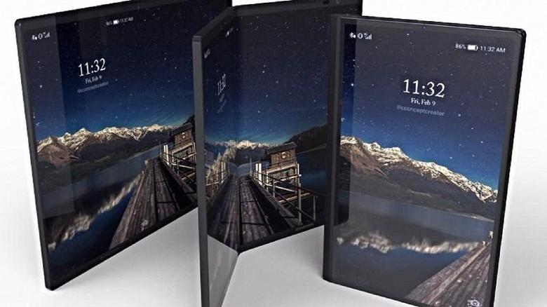 Сгибающийся смартфон Samsung Winner и SoC Snapdragon 8150 замечены в прошивке для Galaxy S9