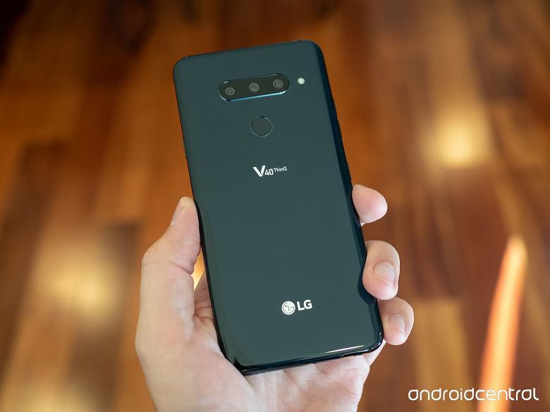 Флагманский камерофон LG V40 ThinQ с пятью камерами представлен официально