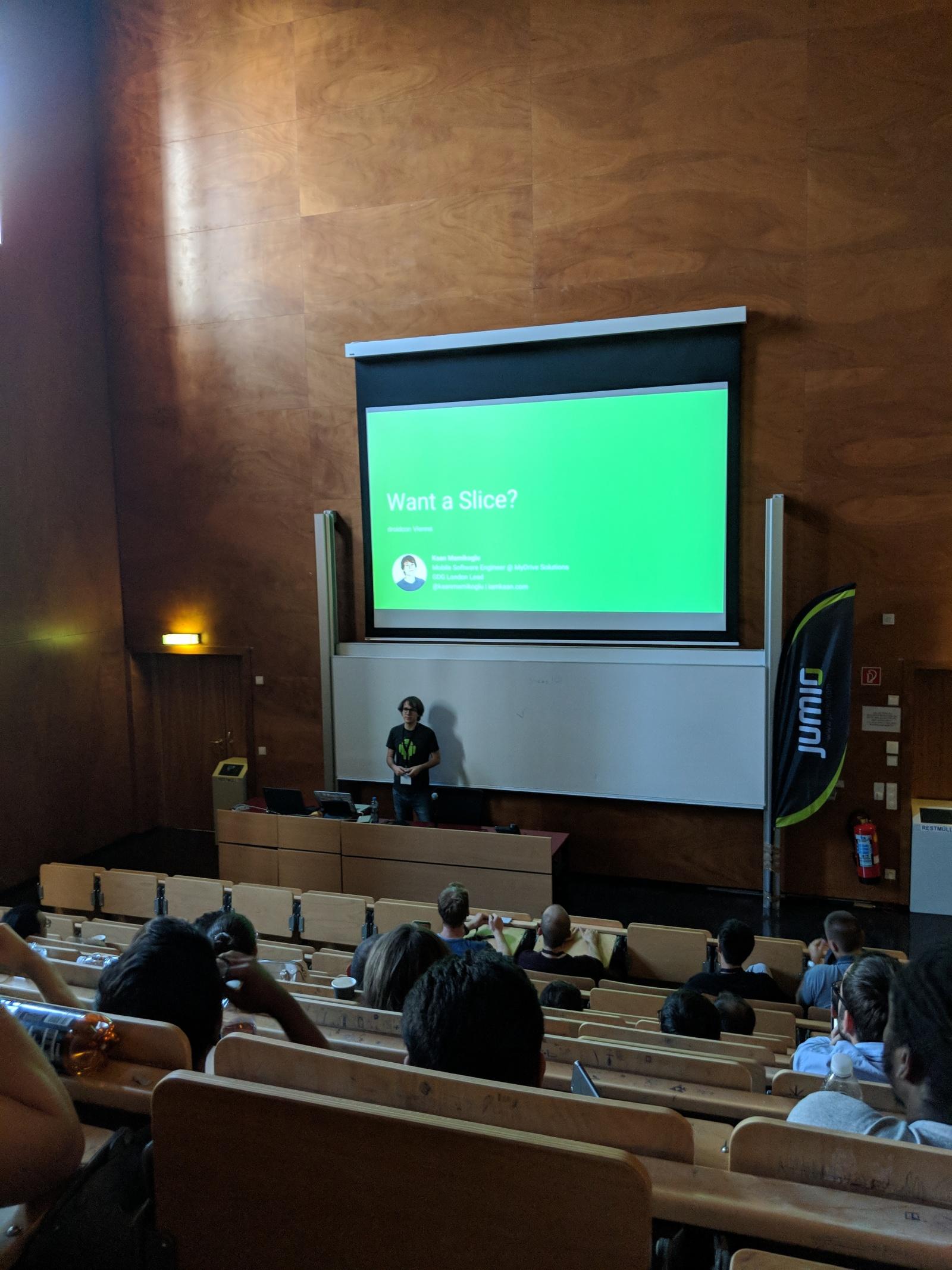 Обзор конференции droidcon Vienna - 12