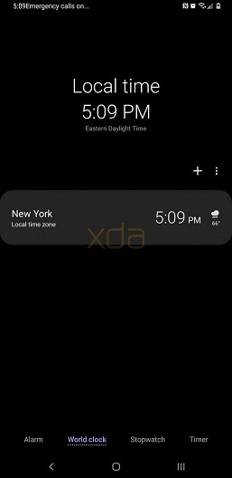 Видео дня: на смартфоне Samsung Galaxy S9 с Android 9.0 Pie показали ночную тему