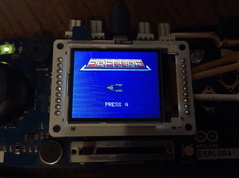 Firecore — нескучная игра на AVR - 1