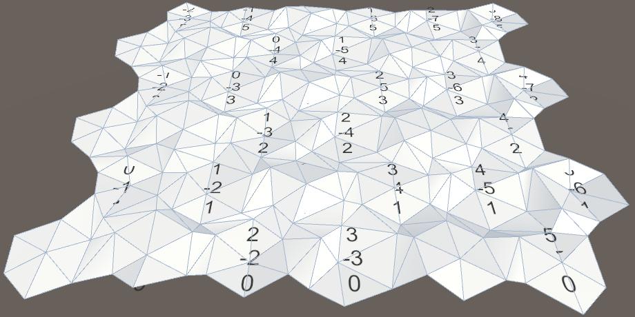 Карты из шестиугольников в Unity: неровности, реки и дороги - 10
