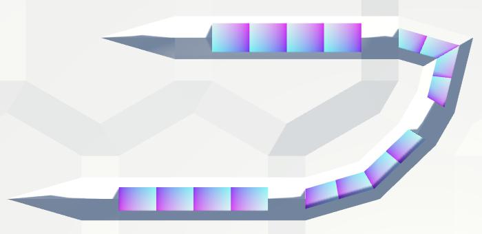 Карты из шестиугольников в Unity: неровности, реки и дороги - 107