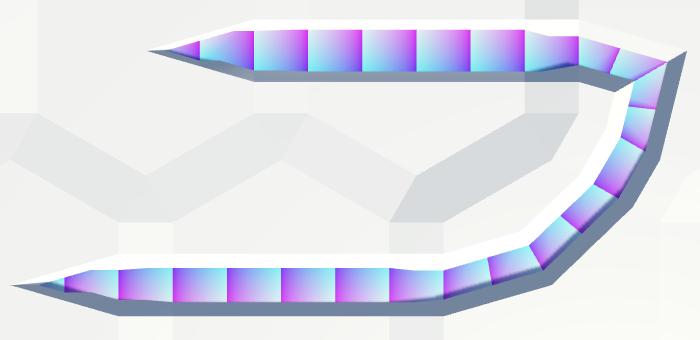 Карты из шестиугольников в Unity: неровности, реки и дороги - 109