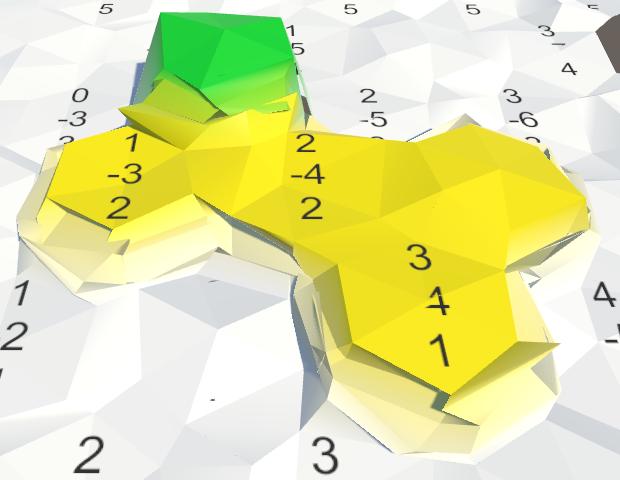 Карты из шестиугольников в Unity: неровности, реки и дороги - 11