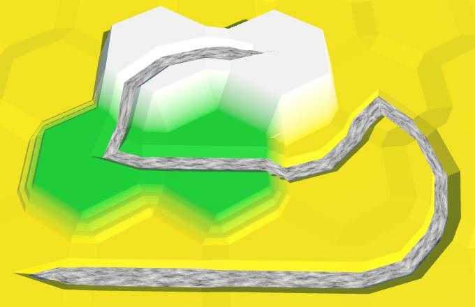 Карты из шестиугольников в Unity: неровности, реки и дороги - 114