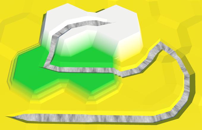 Карты из шестиугольников в Unity: неровности, реки и дороги - 115