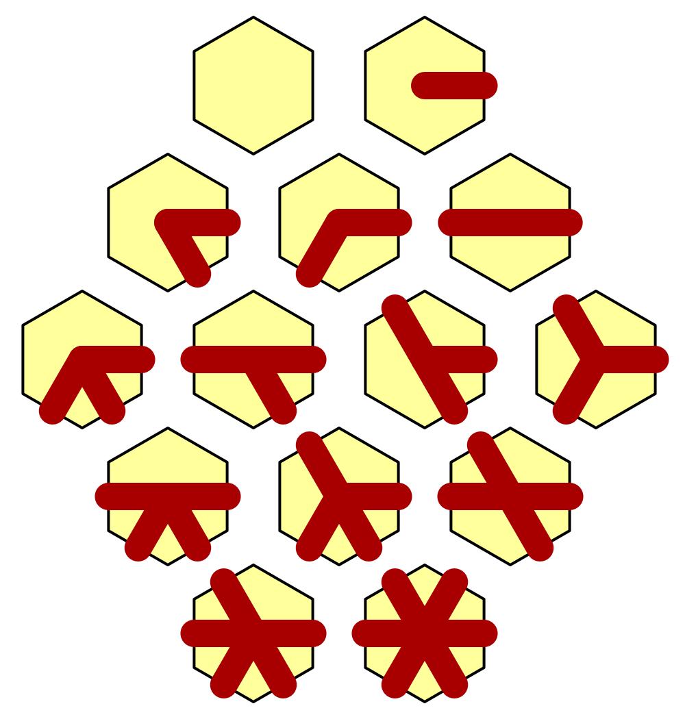 Карты из шестиугольников в Unity: неровности, реки и дороги - 123