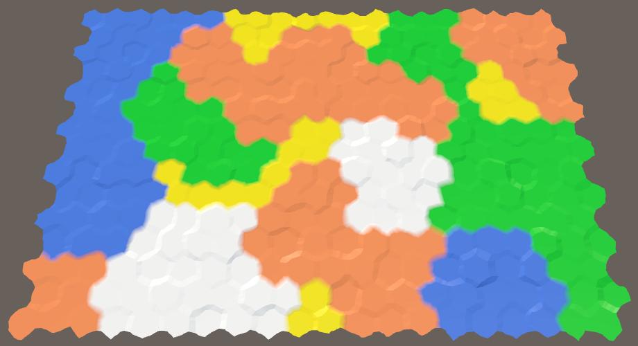 Карты из шестиугольников в Unity: неровности, реки и дороги - 127