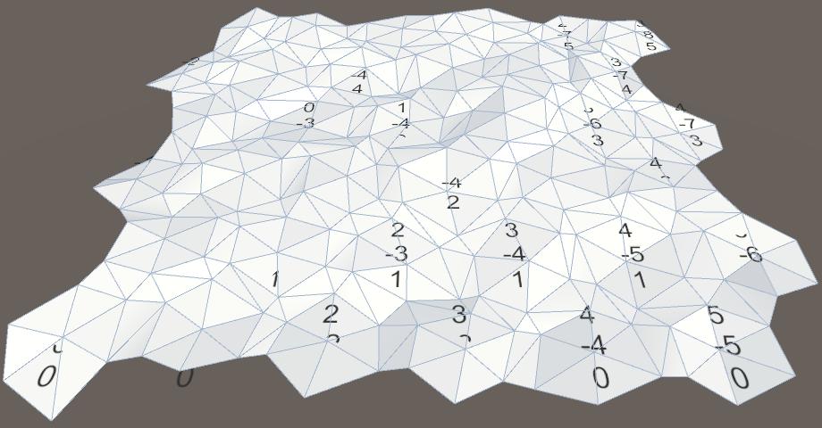 Карты из шестиугольников в Unity: неровности, реки и дороги - 13