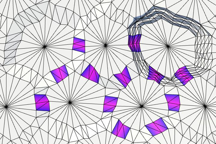 Карты из шестиугольников в Unity: неровности, реки и дороги - 134