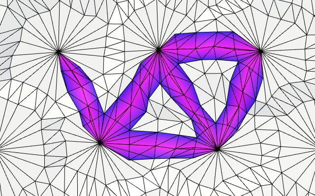 Карты из шестиугольников в Unity: неровности, реки и дороги - 136