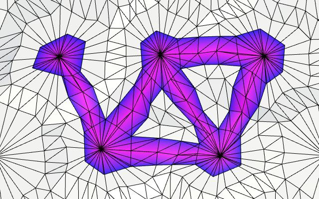 Карты из шестиугольников в Unity: неровности, реки и дороги - 138