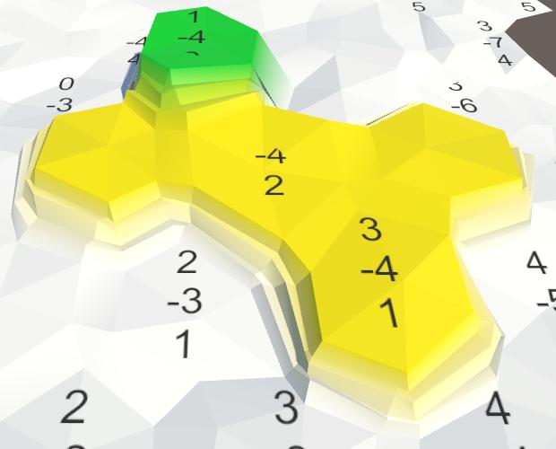 Карты из шестиугольников в Unity: неровности, реки и дороги - 14