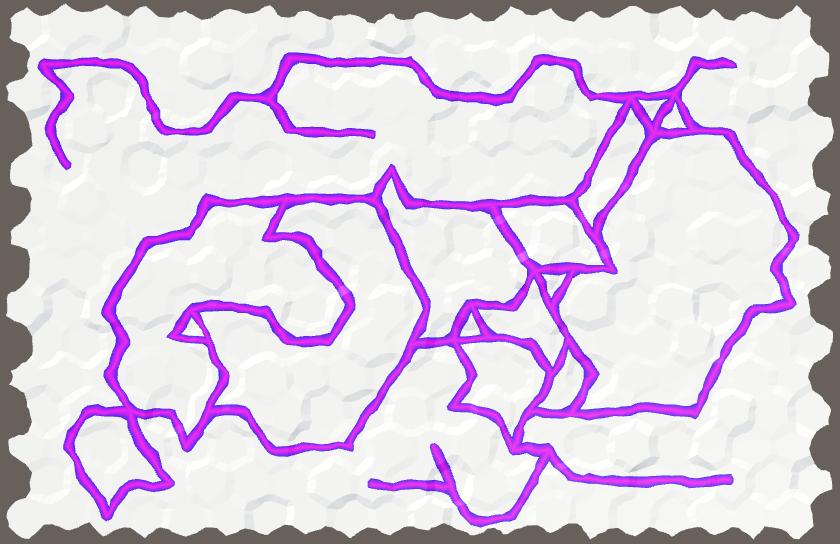 Карты из шестиугольников в Unity: неровности, реки и дороги - 140