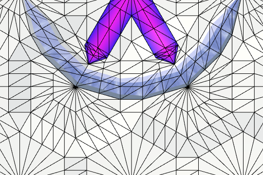 Карты из шестиугольников в Unity: неровности, реки и дороги - 155