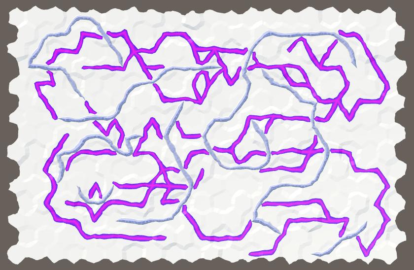 Карты из шестиугольников в Unity: неровности, реки и дороги - 156