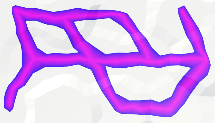 Карты из шестиугольников в Unity: неровности, реки и дороги - 157
