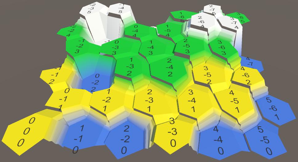 Карты из шестиугольников в Unity: неровности, реки и дороги - 17
