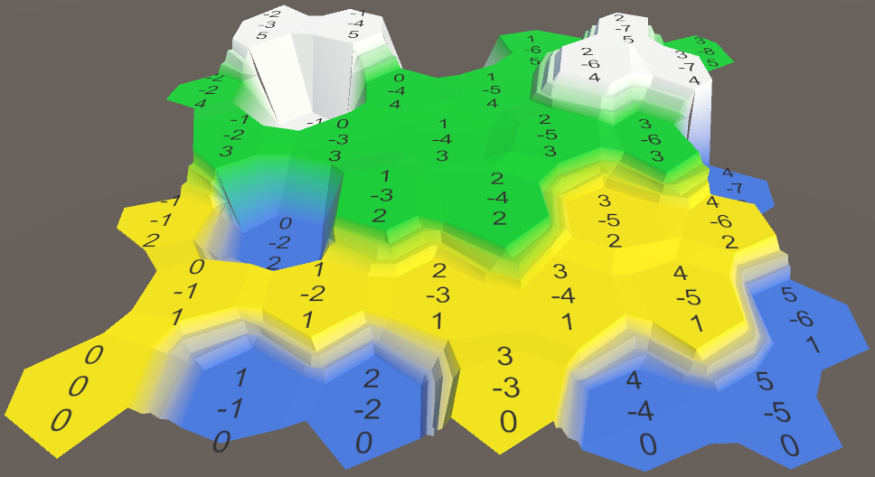 Карты из шестиугольников в Unity: неровности, реки и дороги - 18