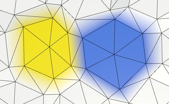 Карты из шестиугольников в Unity: неровности, реки и дороги - 19