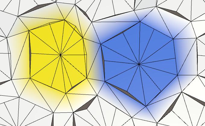 Карты из шестиугольников в Unity: неровности, реки и дороги - 20